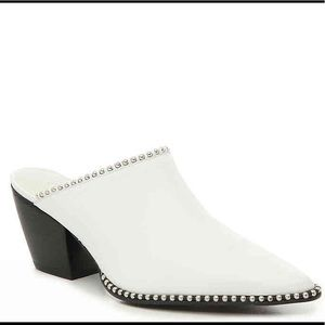 NWT Matisse Lexy mule in white